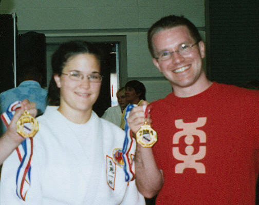 Jes Sanfilippo and David Hofhine Double Gold at 2004 AAU National Championships