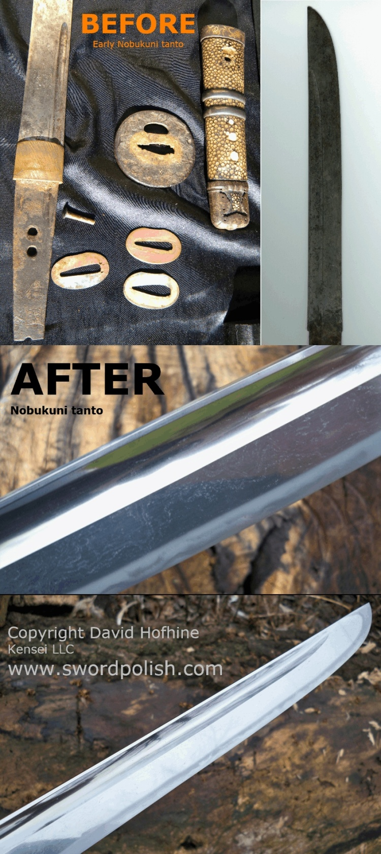 Nobukuni tanto before and after