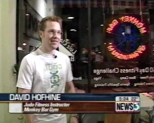 David Hofhine on TV